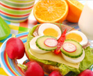 Involving them in understanding healthy food requirements for our body, by tiny activities of fun foods
