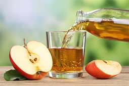 Apple Juice is good for eyesight.