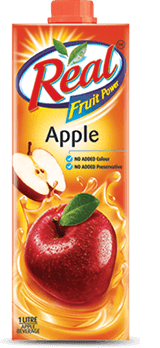 Apple Fruit Juice - Fresh Fruit Juices by Real