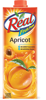 Apricot Juice - Fresh Fruit Juices by Real