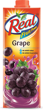 Grapes Juice - Fresh Fruit Juices by Real