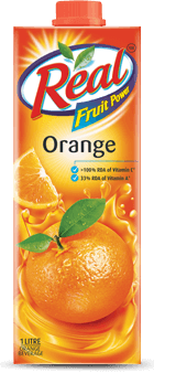 Orange flavour | Real Fruit Power