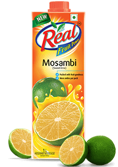 Mosambi Juice - Fresh Fruit Juices by Real
