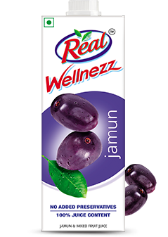 Jamun Juice - Fresh Fruit Juices by Real