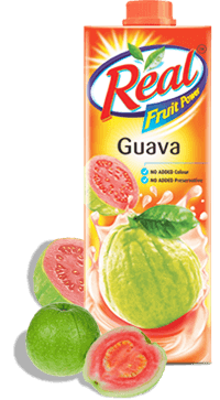 Guava Juice - Fresh Fruit Juices by Real