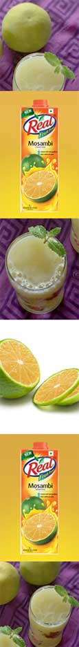 Mosambi Juice Mocktail Recipe