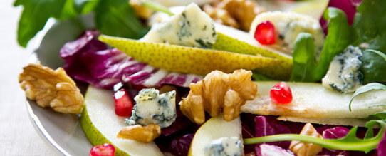Fruit Salad Recipe: Pear & Pomegranate Salad