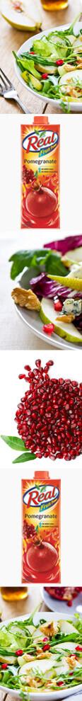 Pear & Pomegranate Salad Recipe