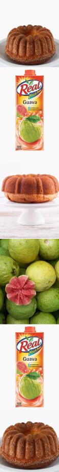 Fruit Dessert Recipe: Guava Pound Cake Recipe