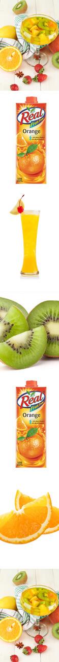 Kiwi & Orange Juice Mocktail Recipe