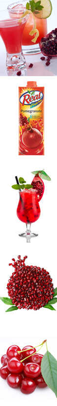 Pomegranate Mint Mojito Recipe with Real Fruit Power