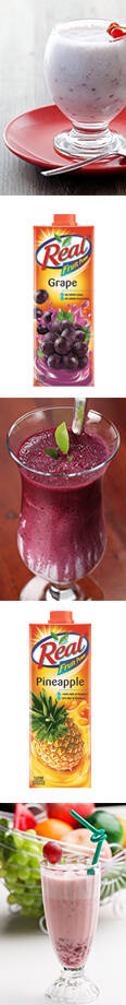 Grape Juice and Pineapple Mocktail Recipe