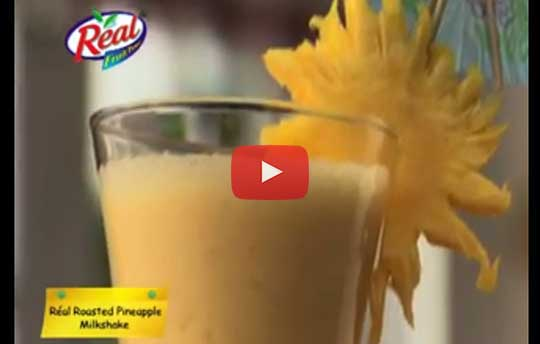 Pineapple Juice Milkshake Recipe